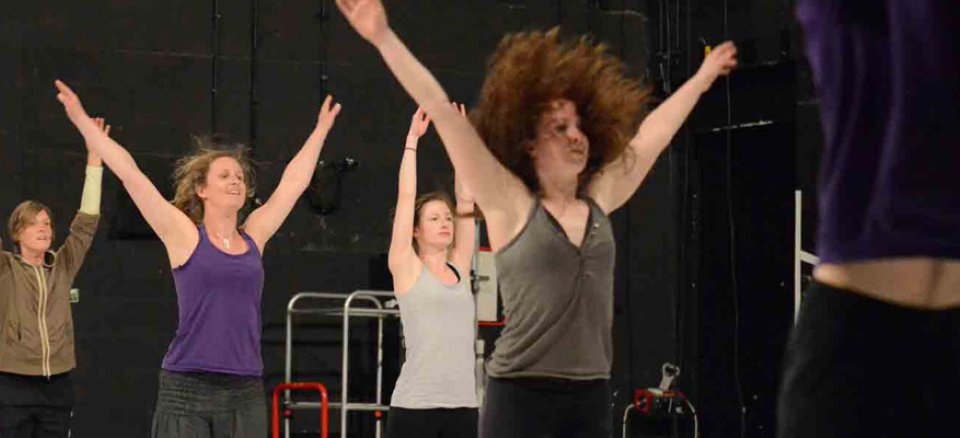 professional opportunities - open classes -  a Retina Dance Company production